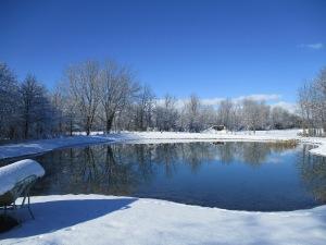 First snow 2015, November 23